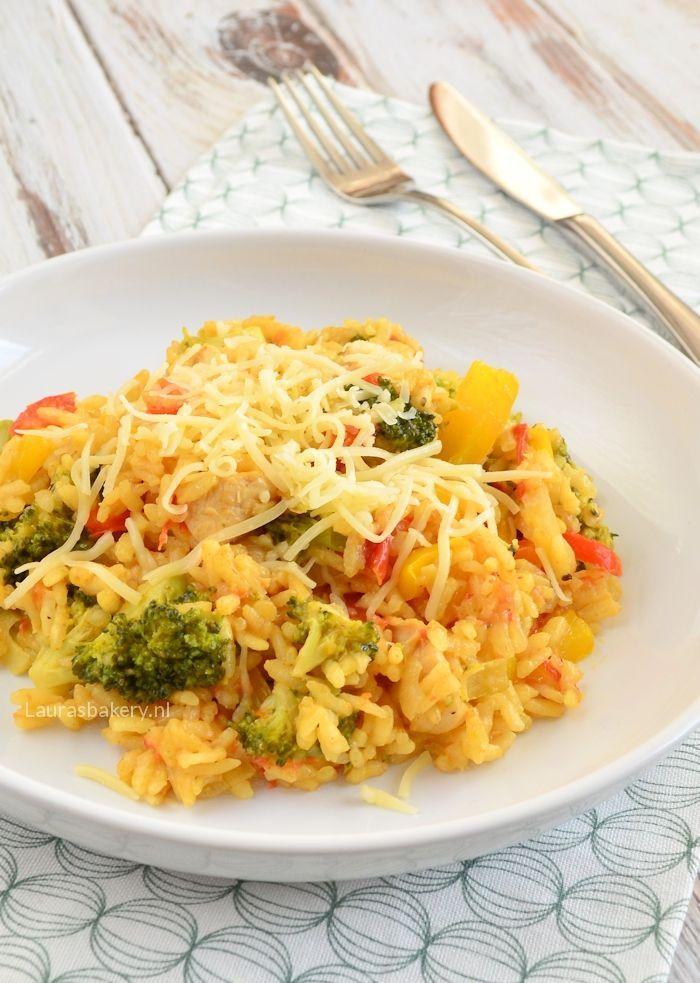 risotto met broccoli en kip 1a