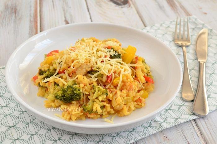 risotto met broccoli en kip 2a