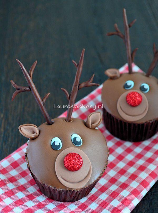 rudolph cupcakes 1a