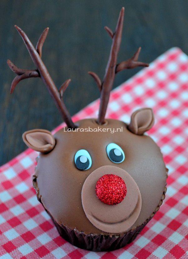 rudolph cupcakes 7a