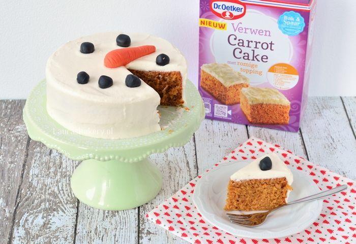 sneeuwman carrot cake 2a