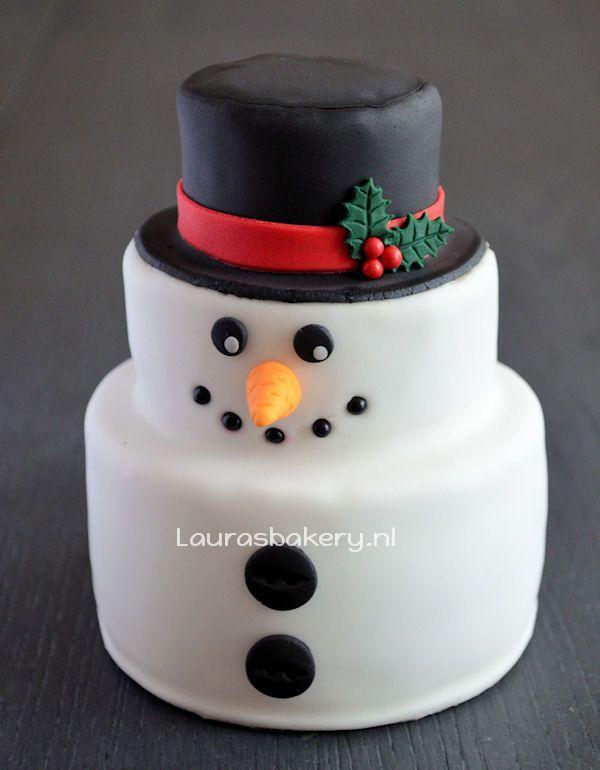 sneeuwpop taartje 7a