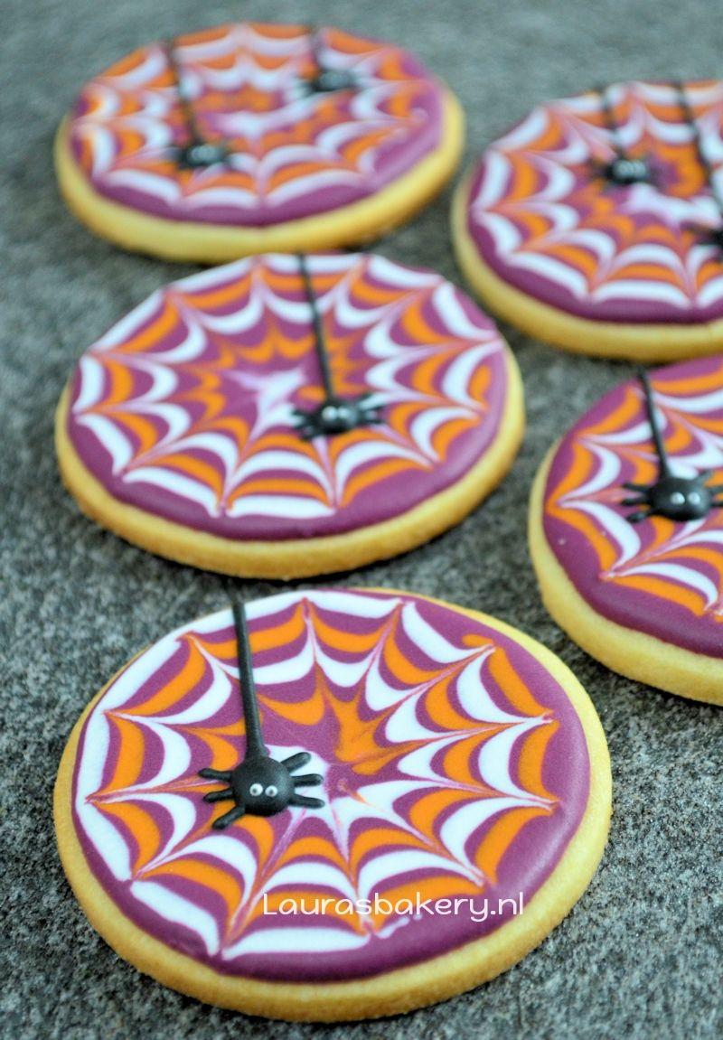 spinnenweb koekjes 1a
