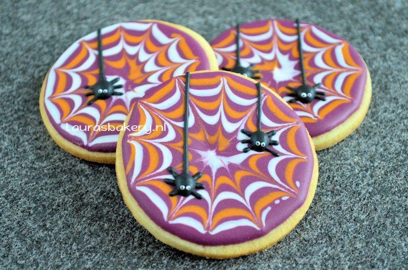 spinnenweb koekjes 2a