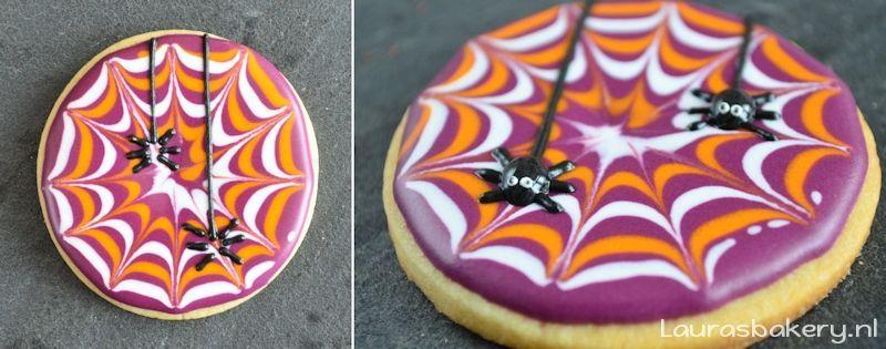 spinnenweb koekjes 4a