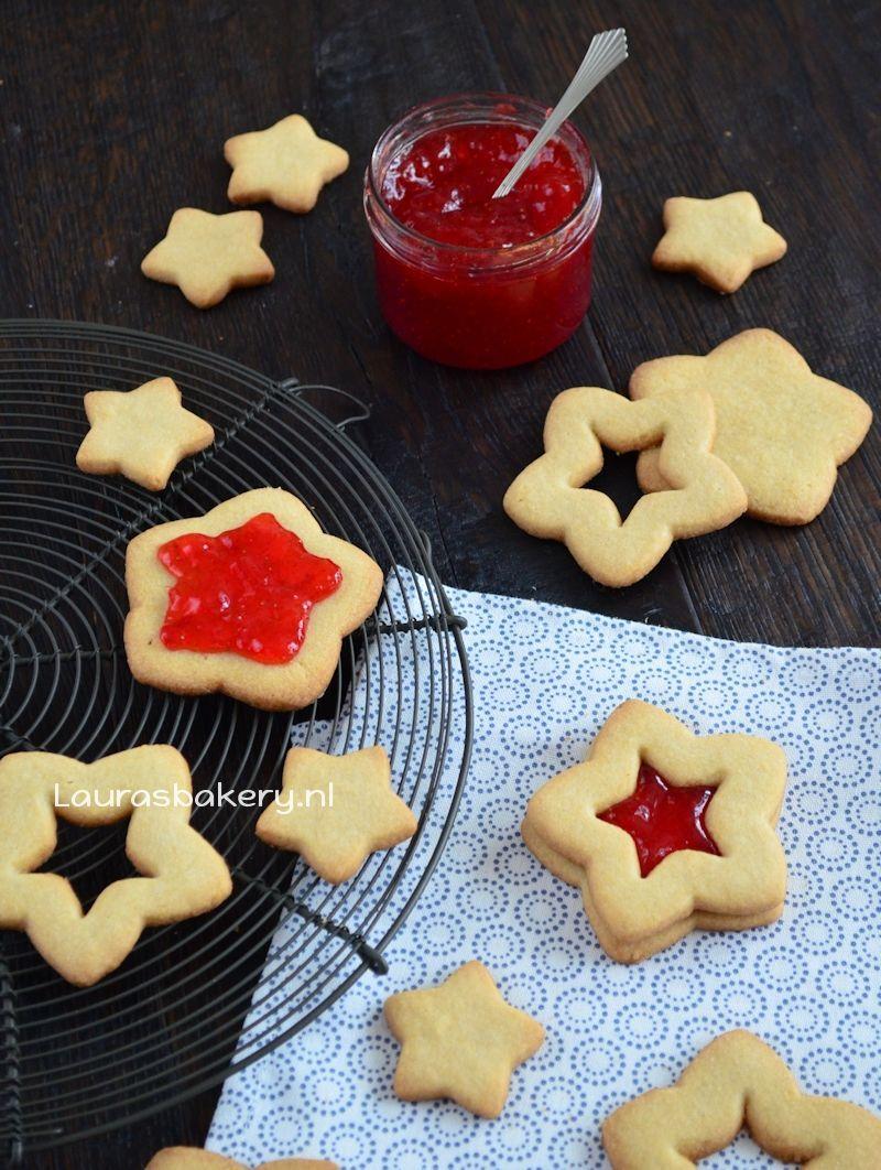 sterren sandwich koekjes