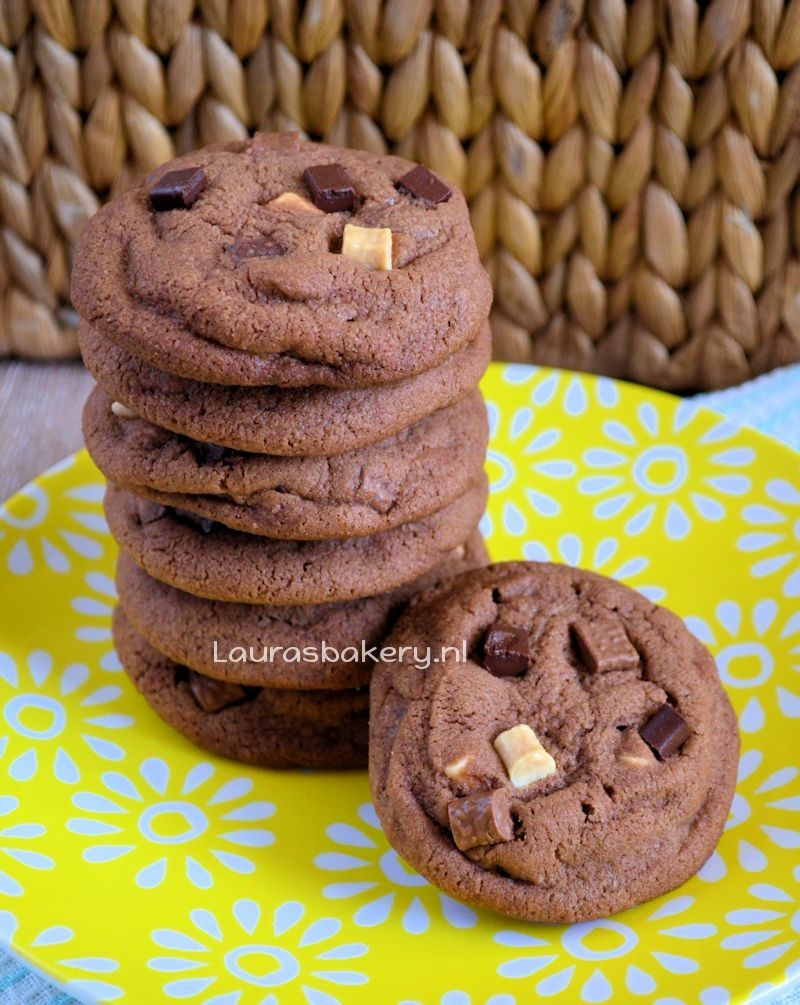triple chocolate chip cookies 5a