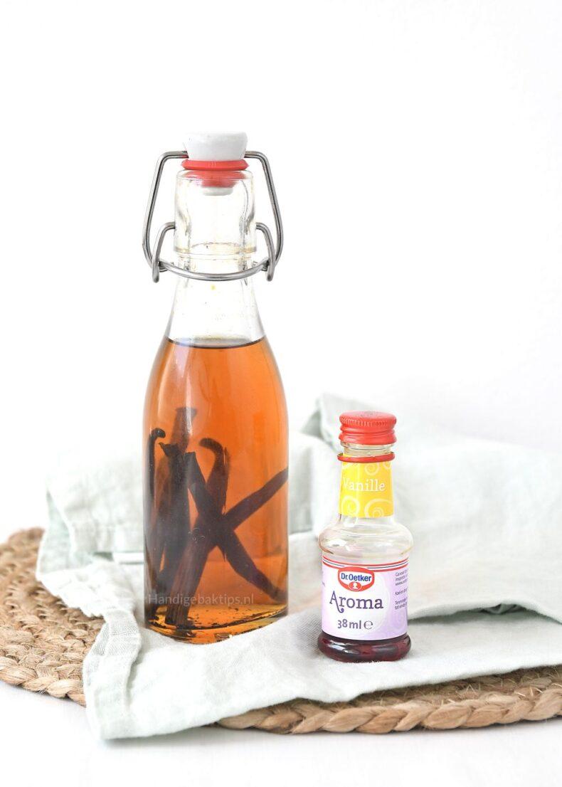 Vanille-extract vs vanille-aroma