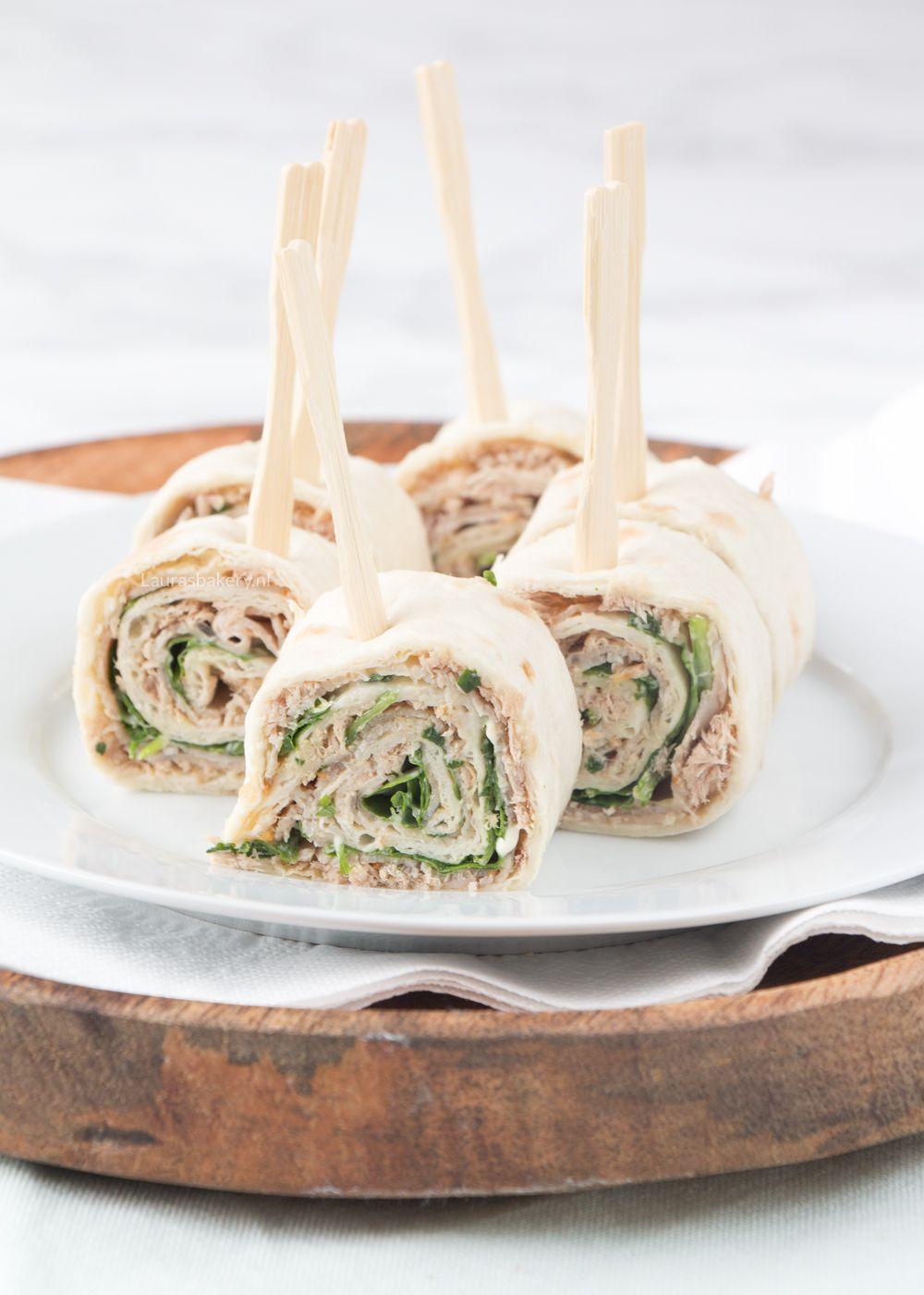 Verbazingwekkend Vitello tonnato wrap hapjes - Laura's Bakery EK-33