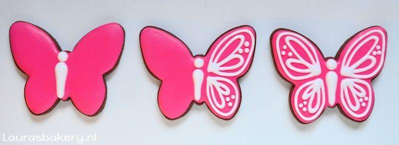 vlinder koekjes
