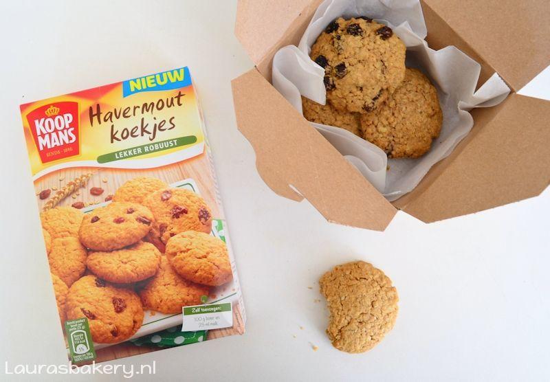 zoet nieuws - koopmans havermout koekjes mix