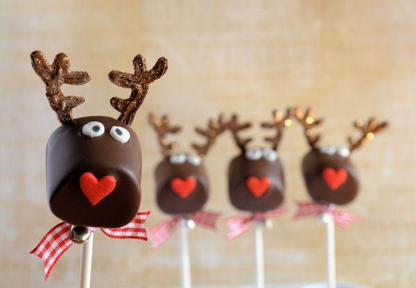 Advent 1: Rendier marshmallow pops