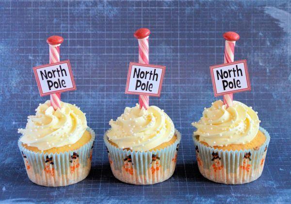 Advent 3: Noordpool cupcakes
