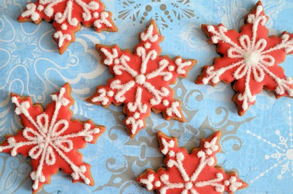 Advent 4: Sneeuwvlok koekjes