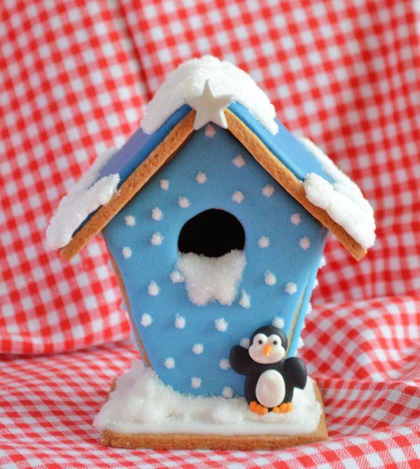 Advent 10: Winters gingerbread huisje