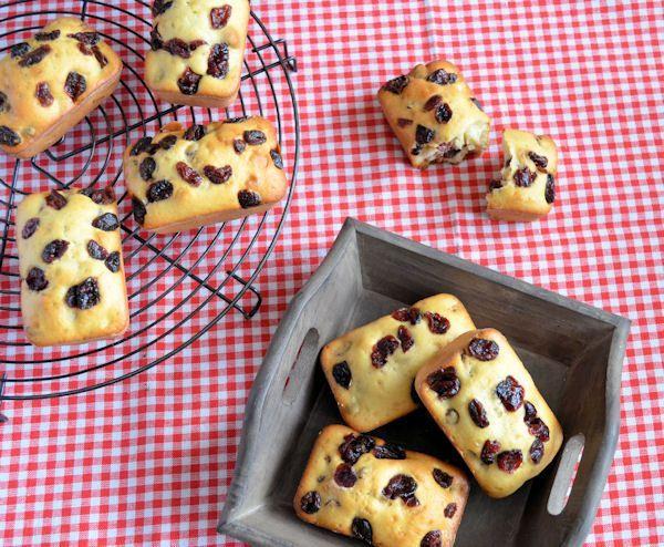 Advent 12: Cranberry muffins recept