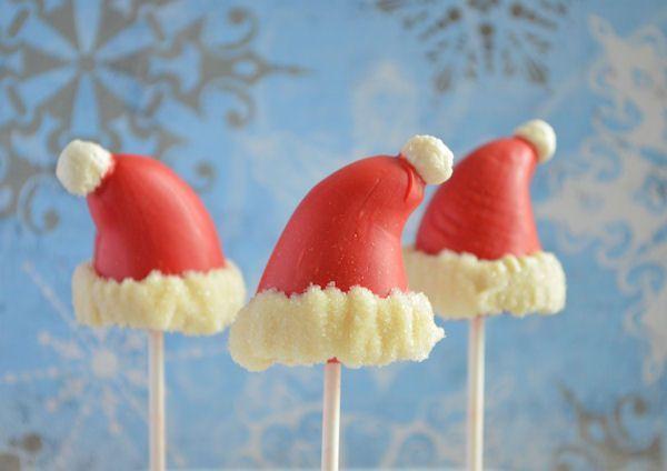 Advent 16: Kerstmuts marsepein pops
