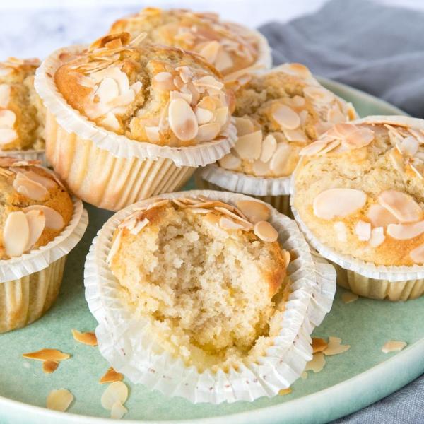 Amandel-citroenmuffins