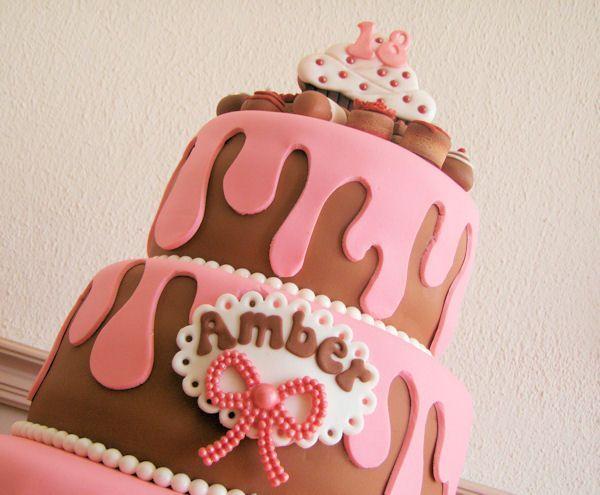 Taart gedecoreerd als... taart??!