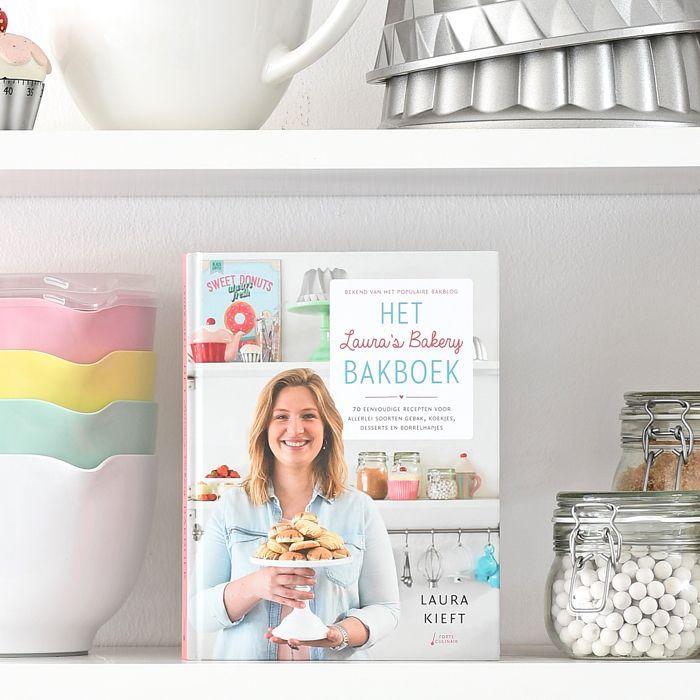 Het Laura's Bakery Bakboek is verkrijgbaar + bekendmaking winnaars