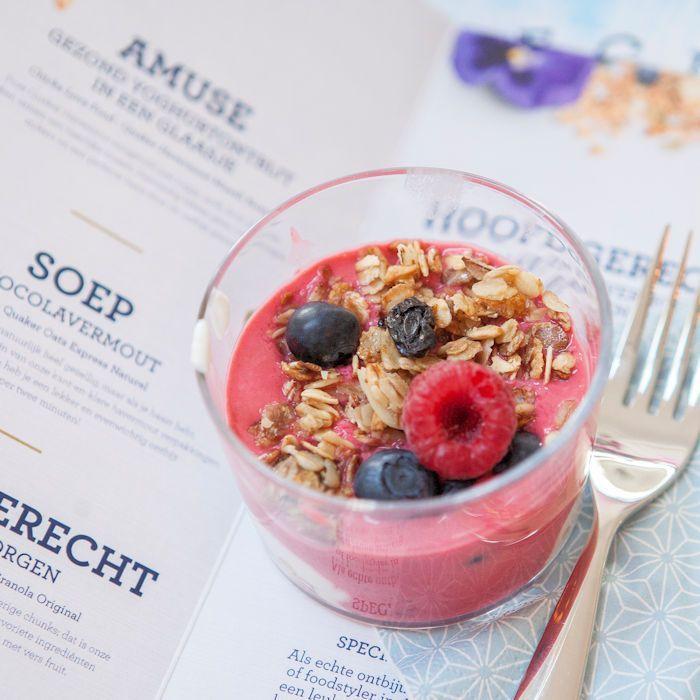 Een 5-gangen ontbijt met Het Quaker Ontbijtboek
