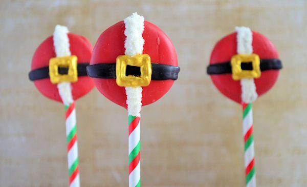 Advent 7: Kerstman Oreo Pops