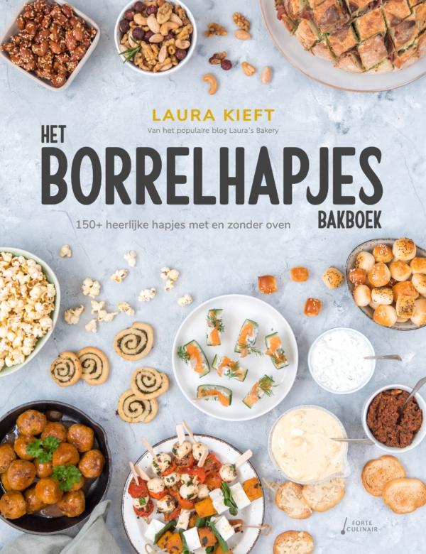 Het Borrelhapjes Bakboek: meer info + reserveren!