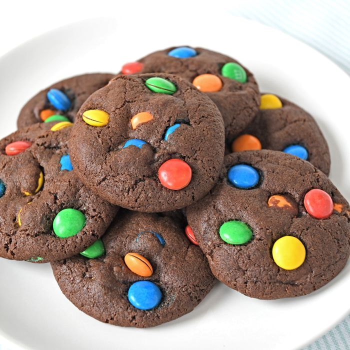 M&M chocoladekoeken + Laura's Bakery 7 jaar