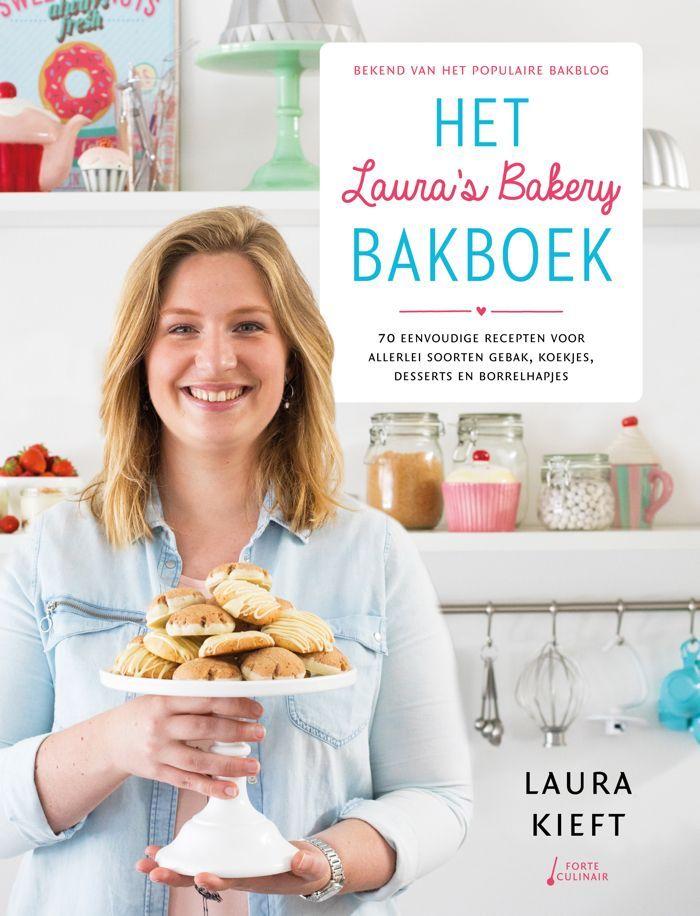 Cover Het Laura's Bakery Bakboek + reserveren