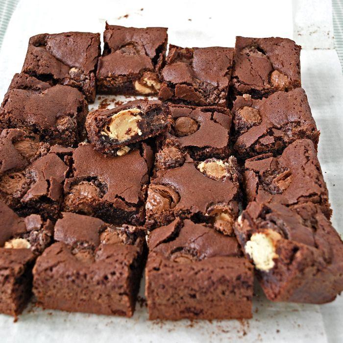 Paasei brownies