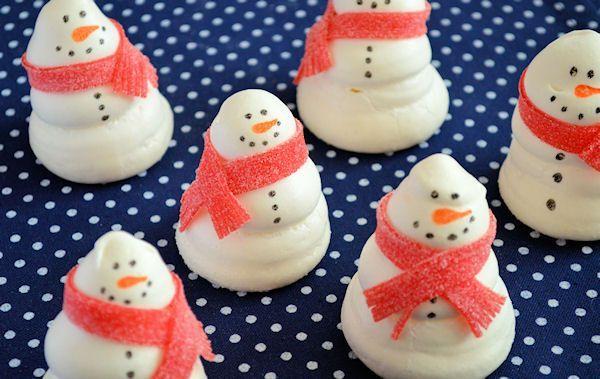 Advent 8: Sneeuwpop Schuimpjes