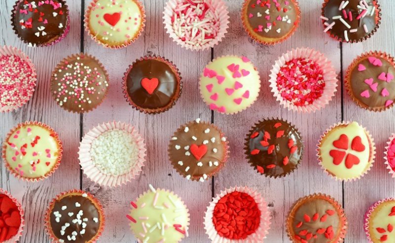Valentijn cupcake party