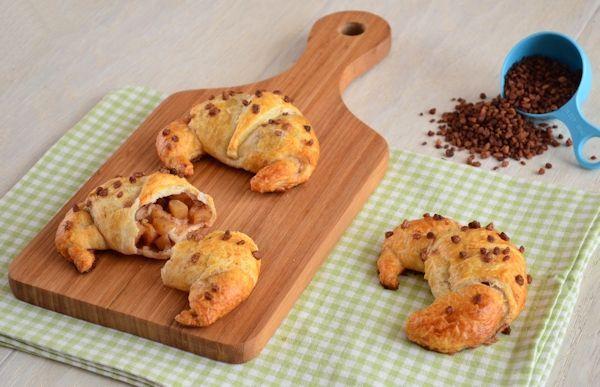 Appel-kaneel croissants