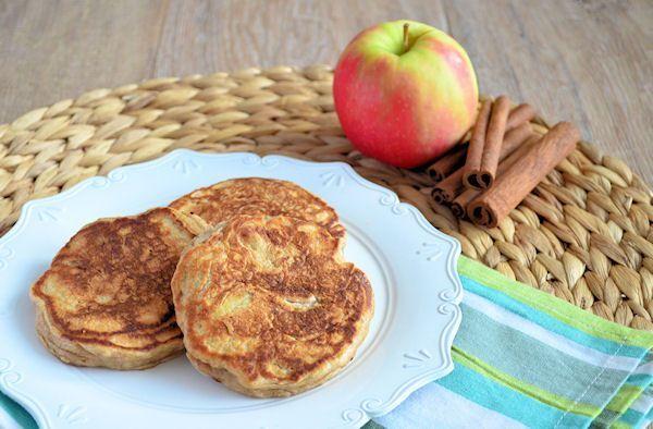 Appel-kaneel pancakes