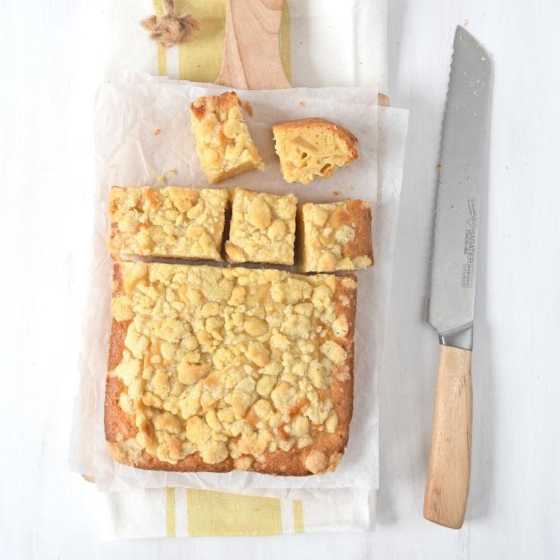appel-kruimel roomcake