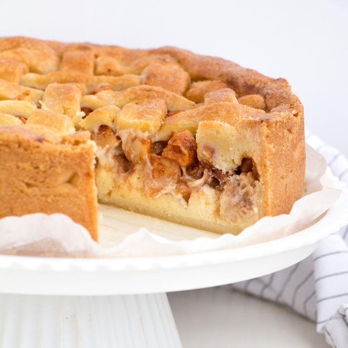 Appeltaart cheesecake