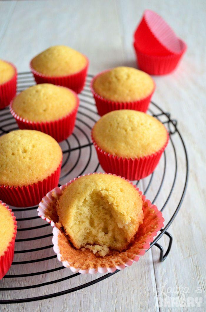 Basisrecept vanille cupcakes