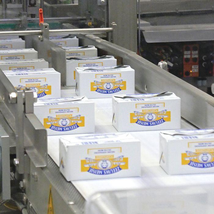 Op bezoek bij de margarinefabriek