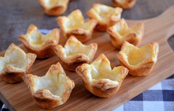 Bladerdeeg bakjes maken