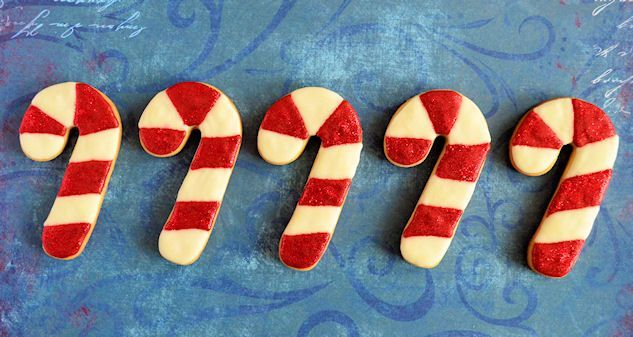 Advent 23: Candy Cane koekjes