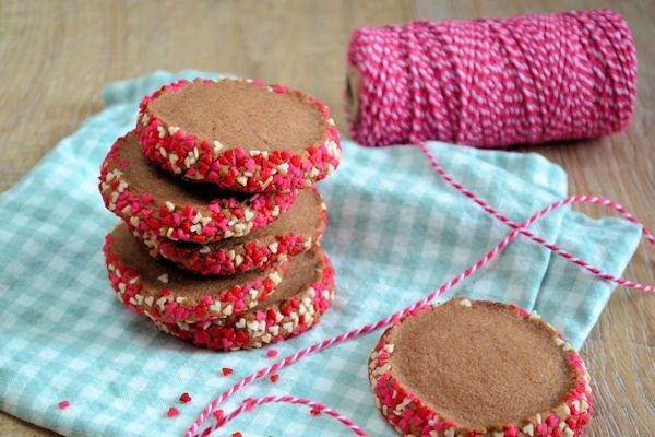 Valentijn chocolade koekjes