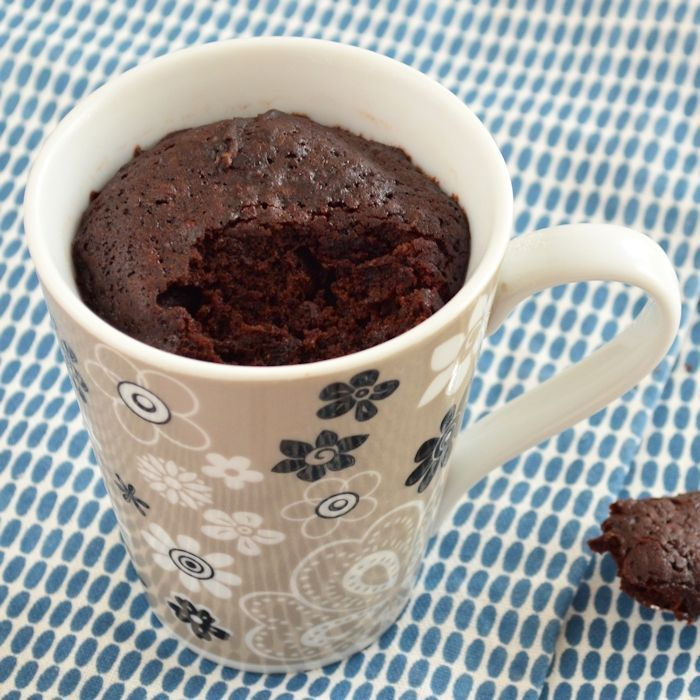 Chocolade mug cake