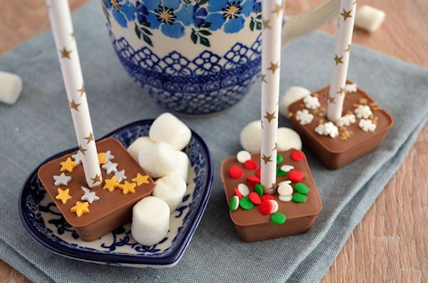 Advent 18: Chocolademelk lepels