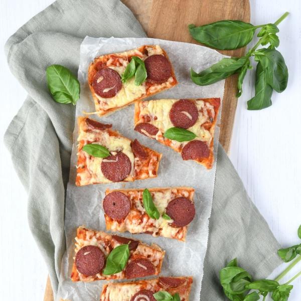 Ciabatta pizzabrood