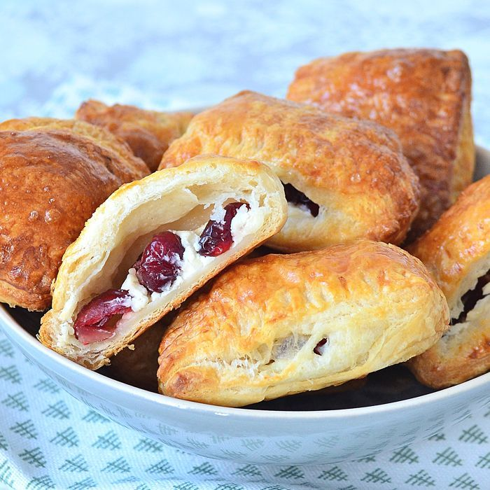 cranberry-roomkaas croissanthapjes