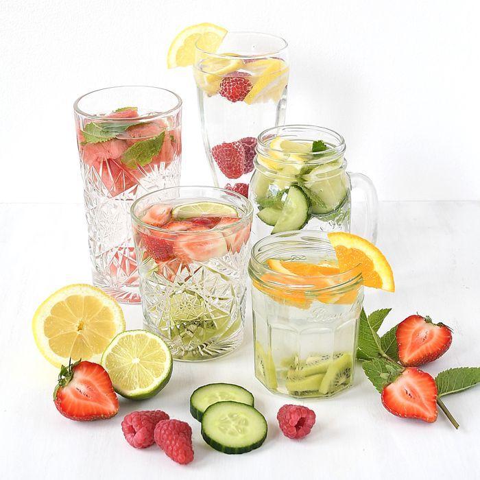 Fruitwater inspiratie