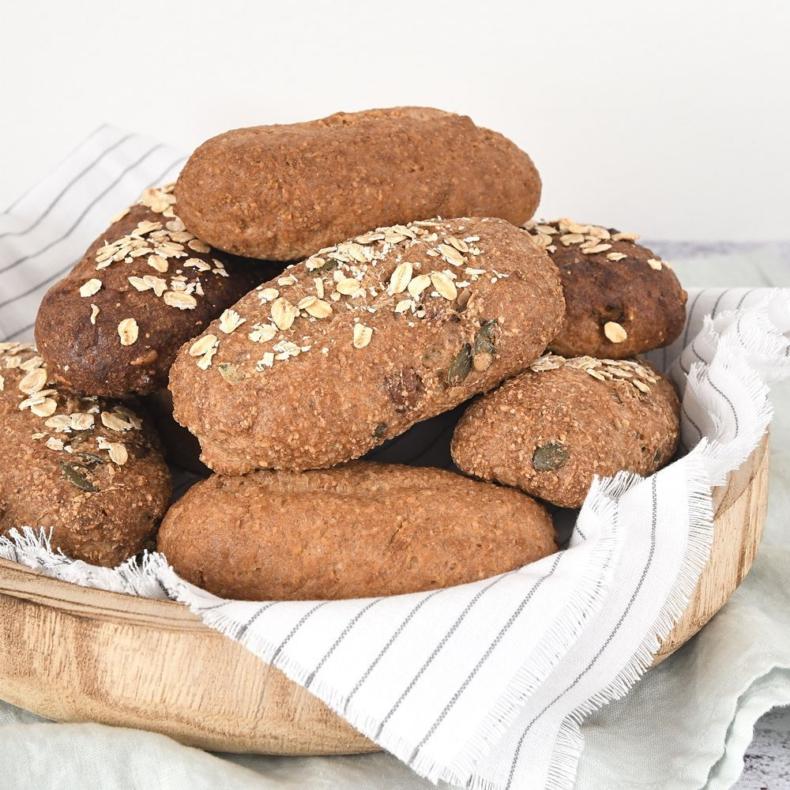 Glutenvrije broodjes - 3 varianten