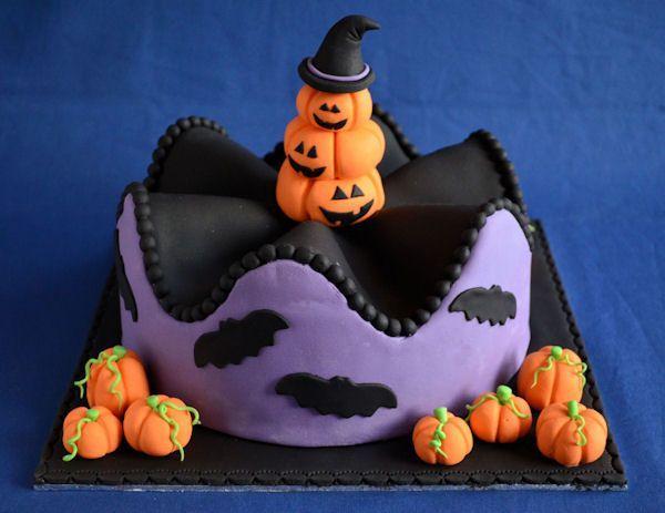 Wavy Halloween Taart