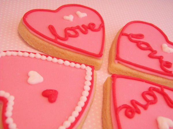 Dames- en Valentijnskoekjes