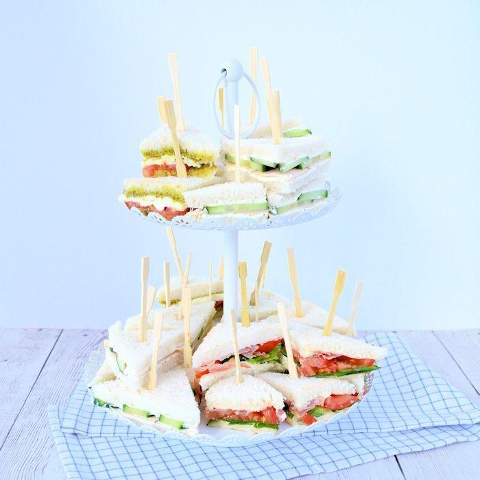 3x High Tea sandwiches